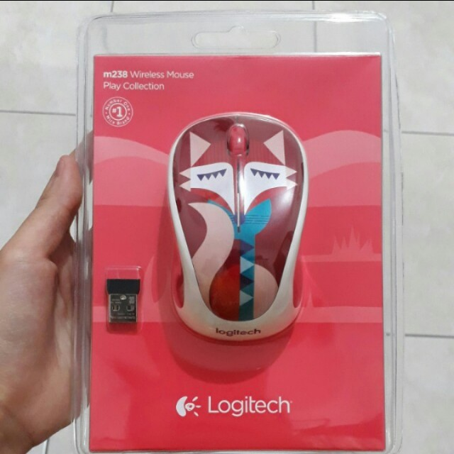 Limited edition wireless logitech mouse m238