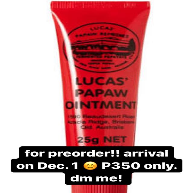 Lucas' Papaw 25g for preorder!