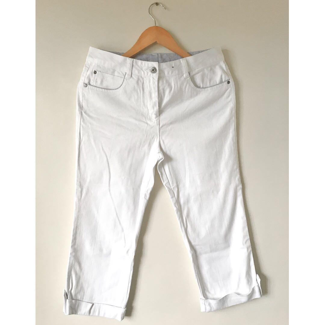 Maine New England White Pants