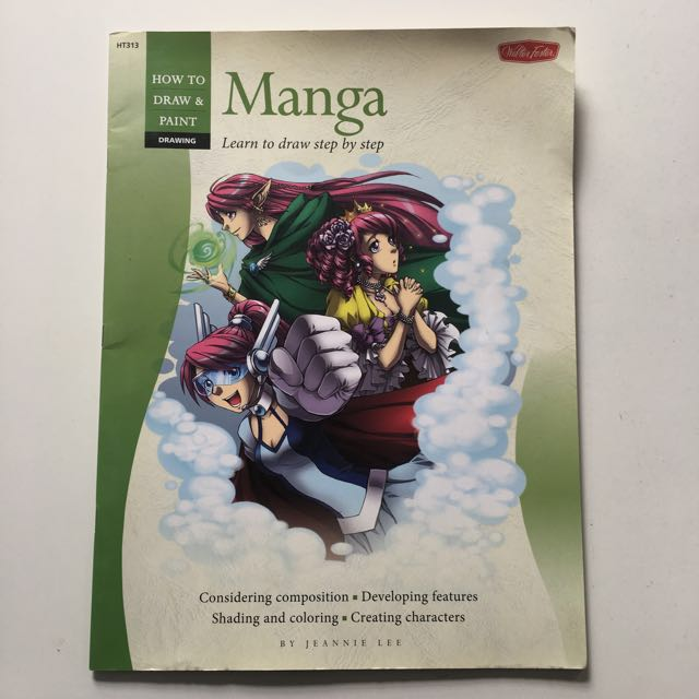 Manga: learn to draw step by step by Jeannie Lee