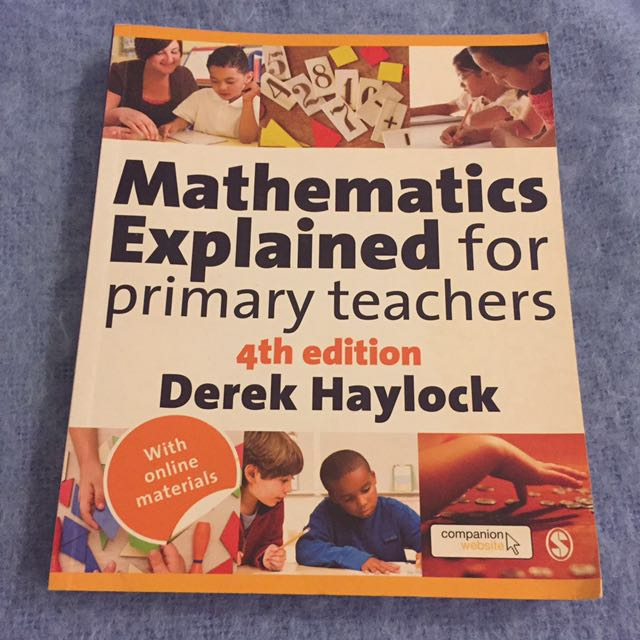 Mathematics Explained For Primary Teachers - 4th Edition
