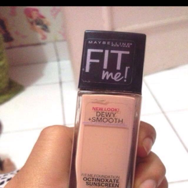 Maybelline fit me foundation shade 115