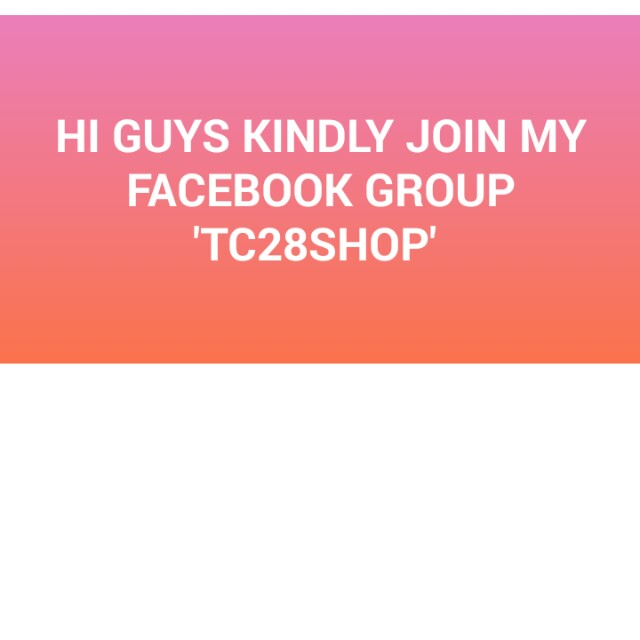 MY FACEBOOK GROUP