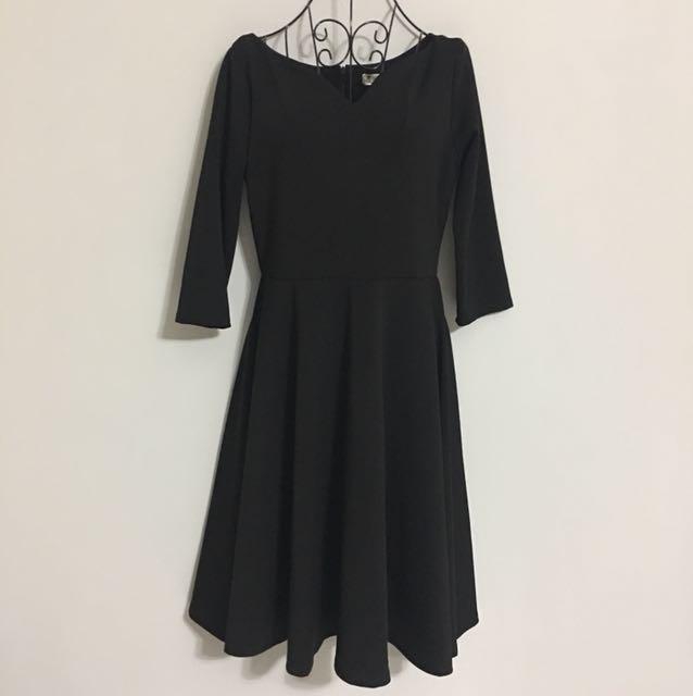 🌹NEW - KOREAN Premium Long-sleeve Dress