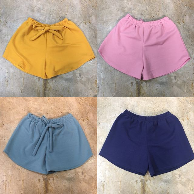 New! Tie Knot Candy Shorts