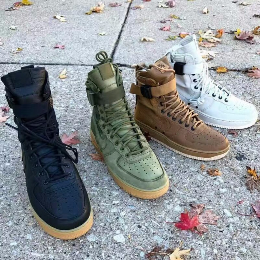 outlet store b4f92 96f74 Nike Special Forces Air Force 1 Boots, Men s Fashion, Footwear on Carousell