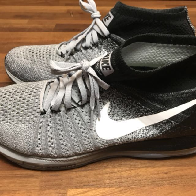 Nike Zoom All Out Flyknit 844134-003 US10.5 慢跑鞋