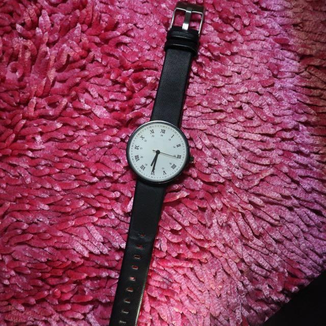 No Brand Watch Black