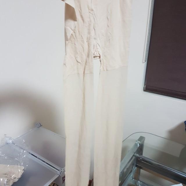 Nude / skin tone stockings - 3pc set