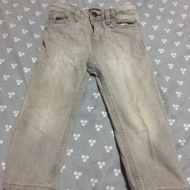 eeb6bc1b7 OshKosh Bgosh Fleece Lined Jeans (size 18mth), Babies & Kids, Boys ...
