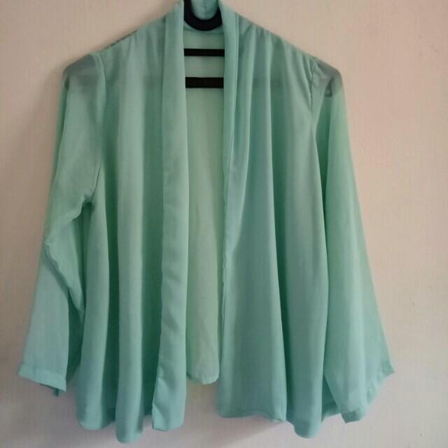 Outerwear Hijau mint