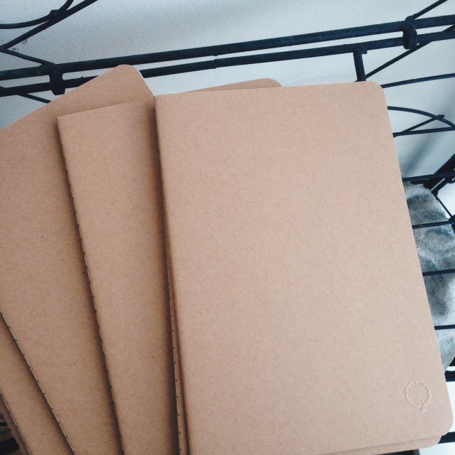 Personalized Kraft Notebooks