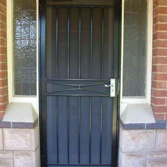 Pintu Besi Rumah Minimalis Properti Lainnya Di Carousell