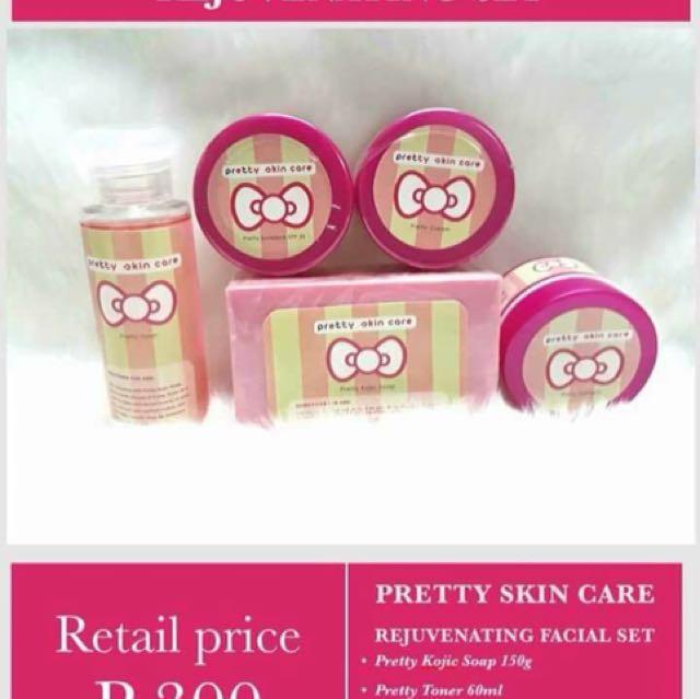 Pretty Skin Care Rejuvenating Set