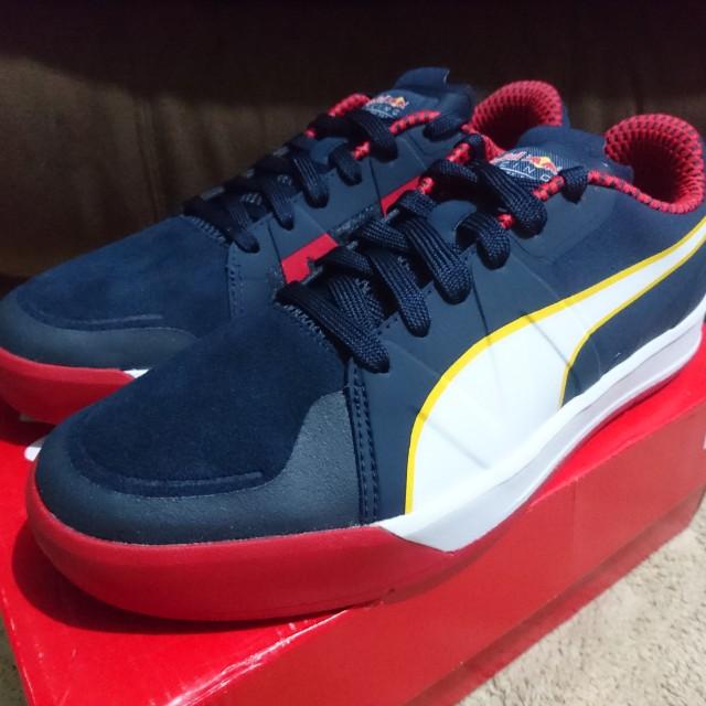 1f06b1d1c87 Puma RedBull Racing Rider Culture Men Shoes (Navy)  LIMITED EDITION ...