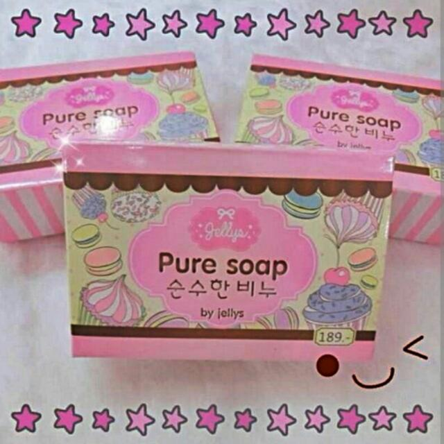Pure Soap By Jelly's