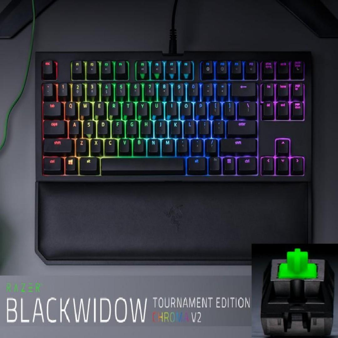 d593100eb73 Razer BlackWidow Tournament Edition Chroma V2 – Mechanical Gaming ...