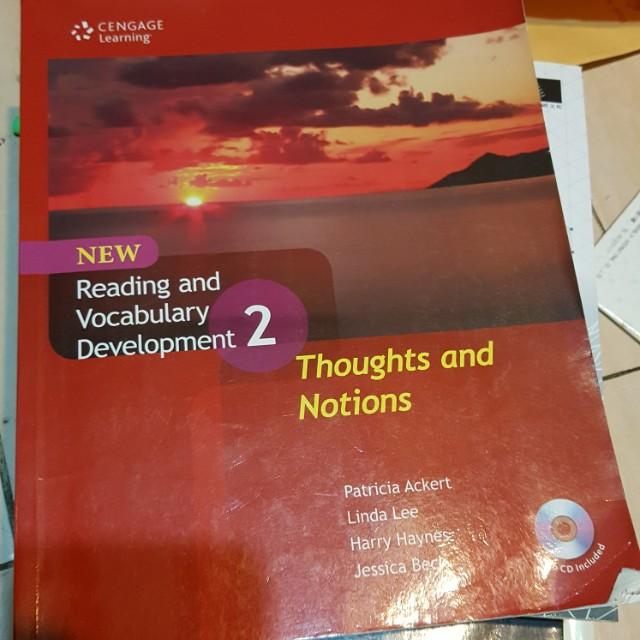 reading and vocabulary evelopment