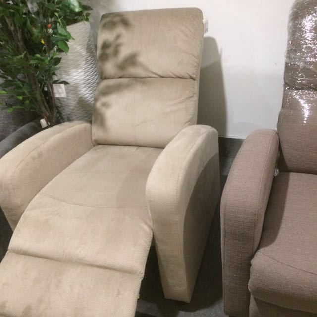 Recliner Sofa/Chair soft brown #midnovember50