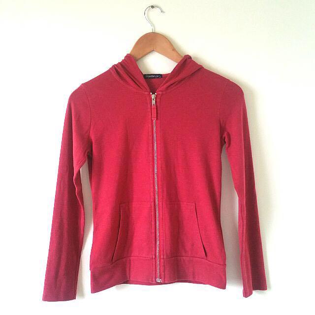 Red Hoodie Jacket