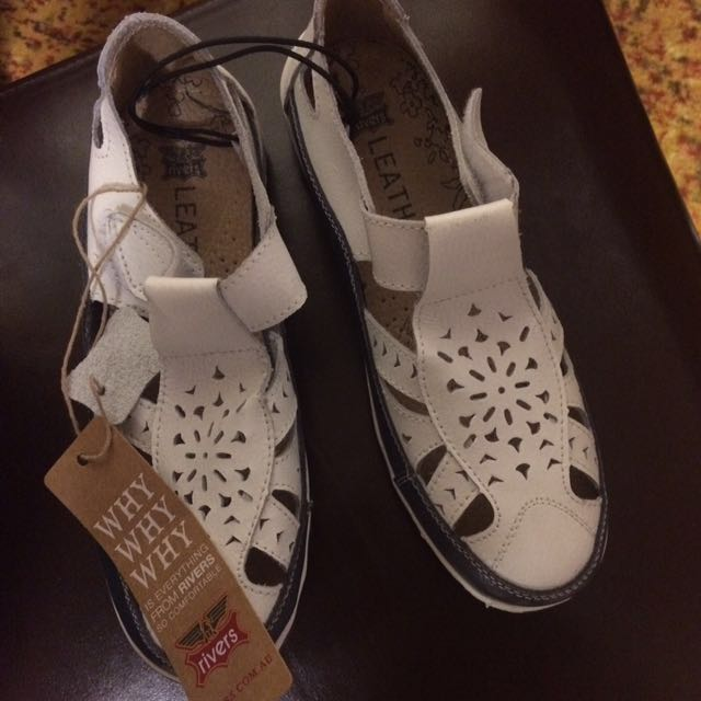 Rivers brand leather shoes