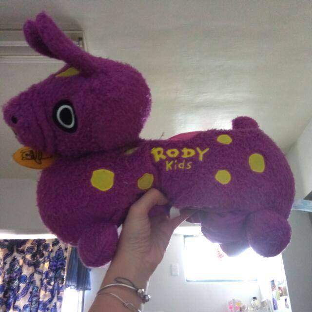日本購回紫色惡搞Rody 面紙套