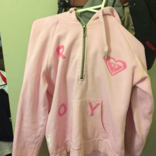 Roxy pink jumper