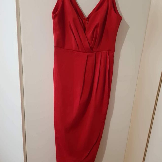 Sexy Red Dress size 8