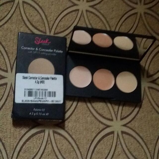 50%OFF Sleek Makeup Corrector & Concealer Palette