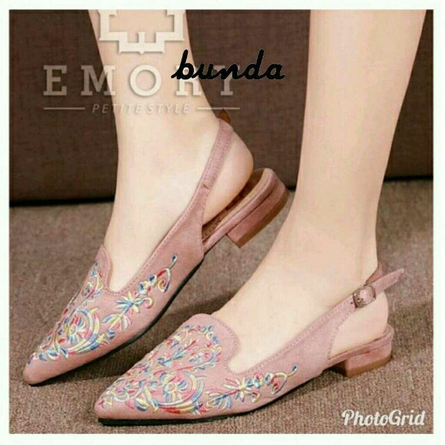 Slip on bordir