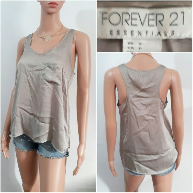 (S-M) Forever 21 mocha top