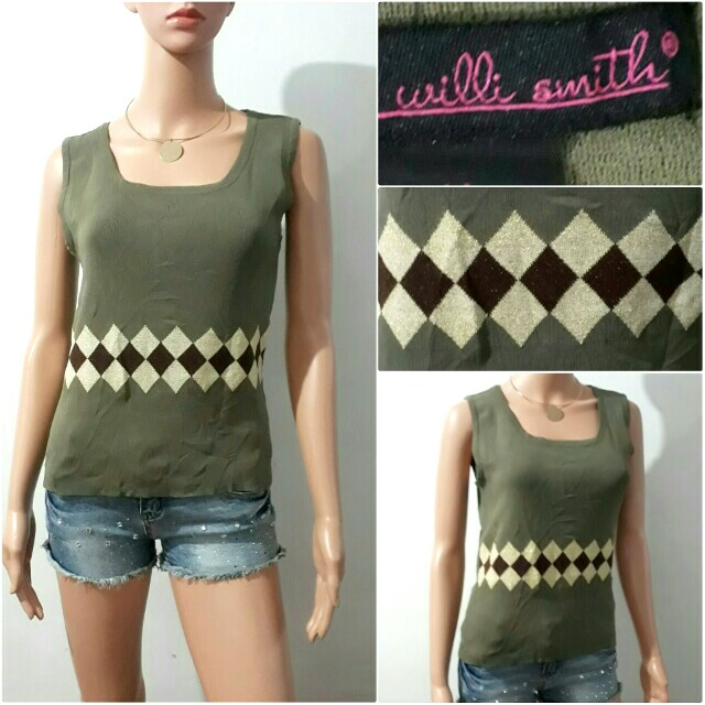 (S-M) Willi Smith knitted top