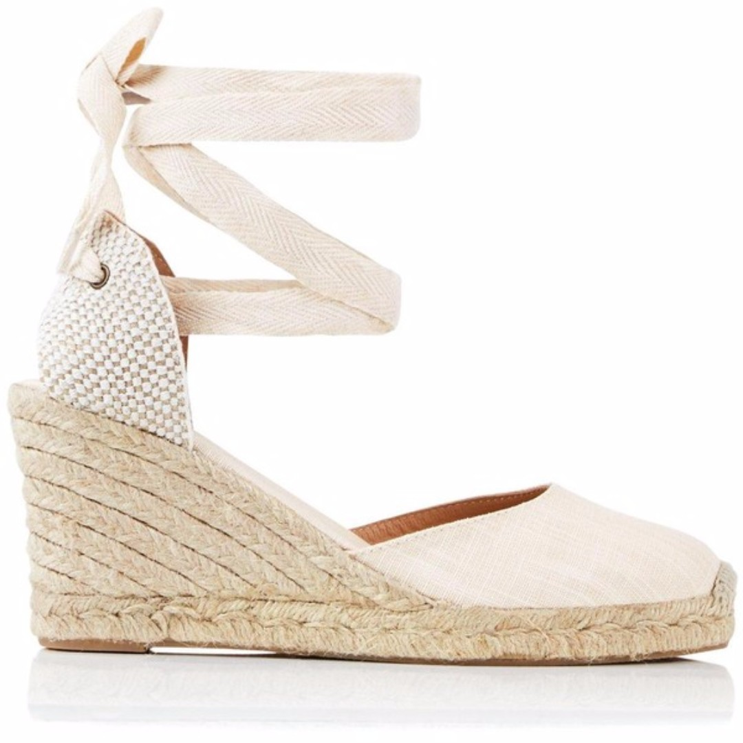 Soludos Tall Wedge Espadrille - Blush | Size 8/EU39 | BRAND NEW in Box | RRP$130