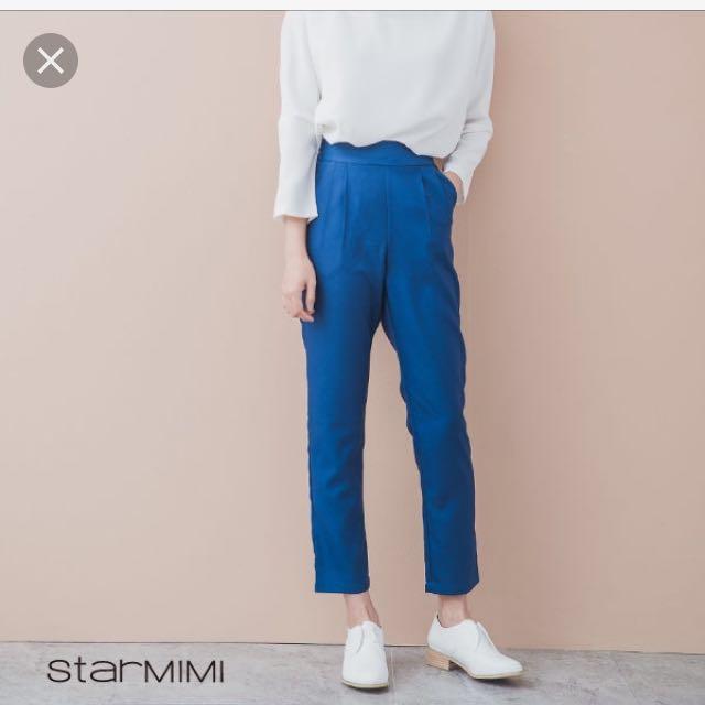 starmimi 側邊鬆緊老爺褲