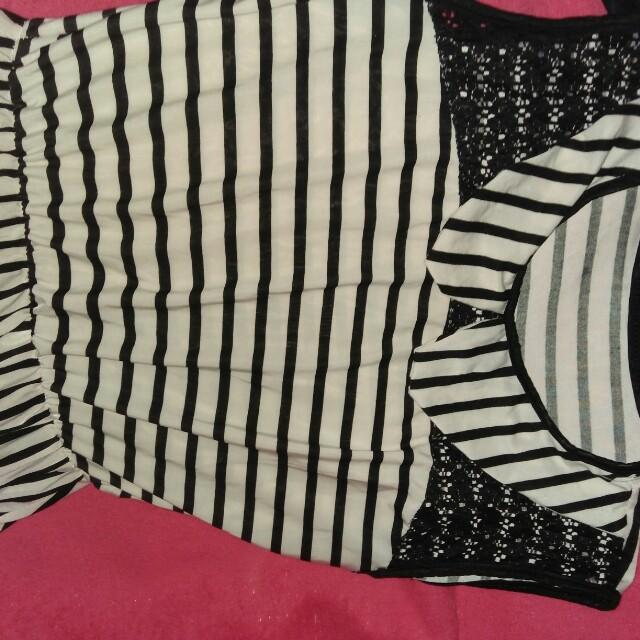 Stripe Black&White dress