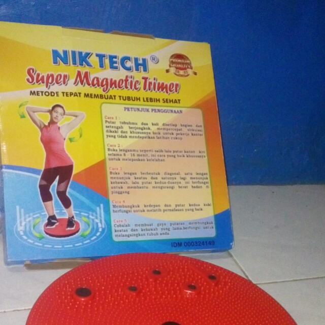 Super magnetic trimer/piring magnet fitnes/alat olahraga