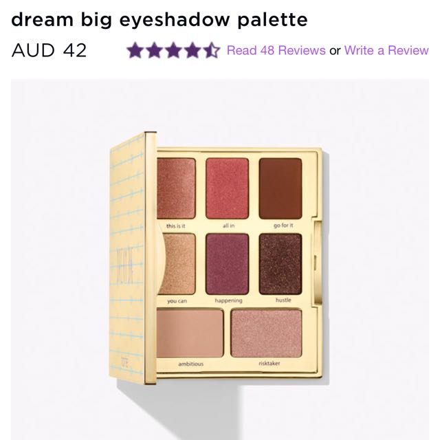 Tarte Dream Big Pallete