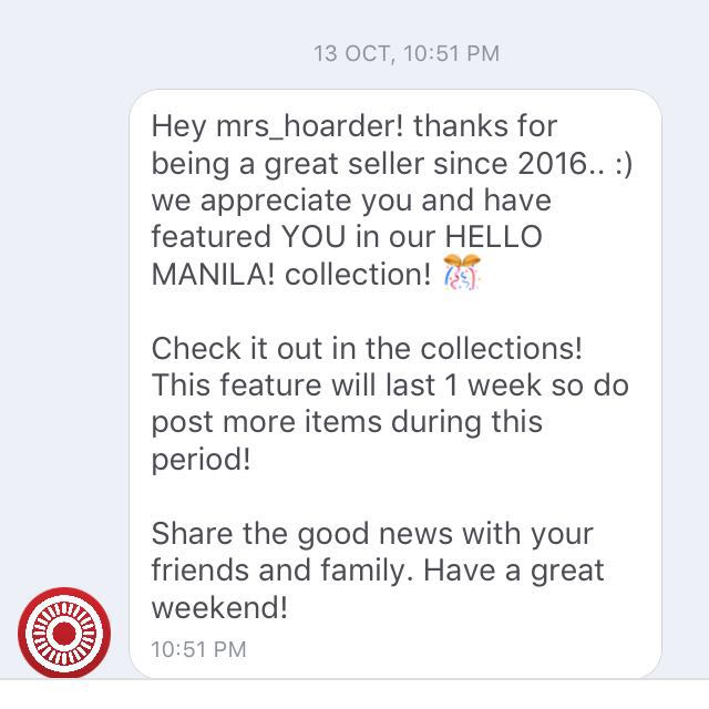 Thank you Carousell! 🙏🏼