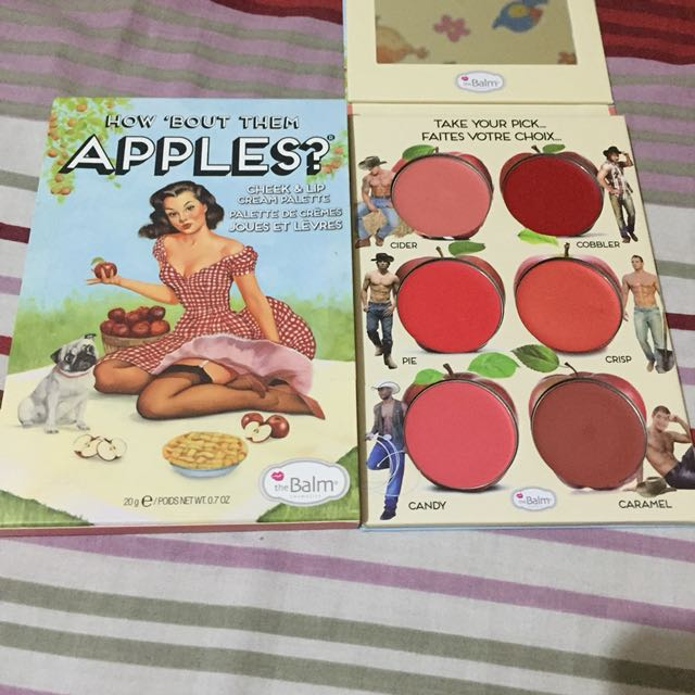 The balm apples