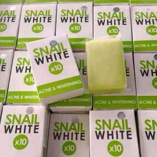 The Snail White x10 Acne & Whitening