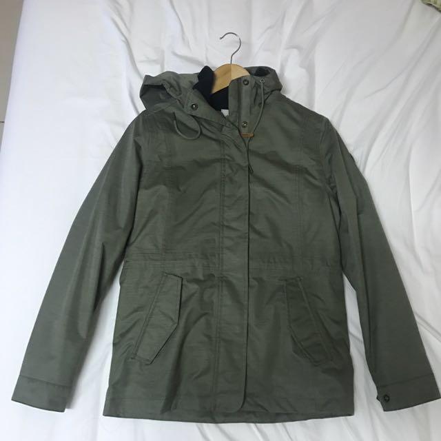 Timberland女款三合一外套