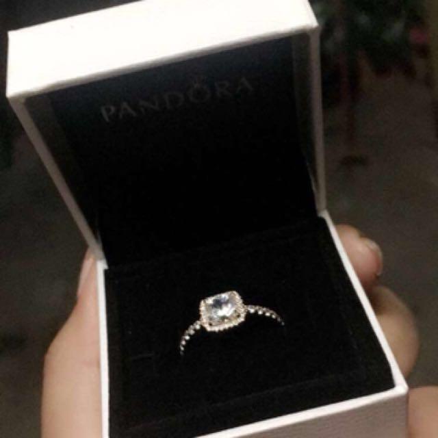 Timeless Elegance Ring Pandora Rose