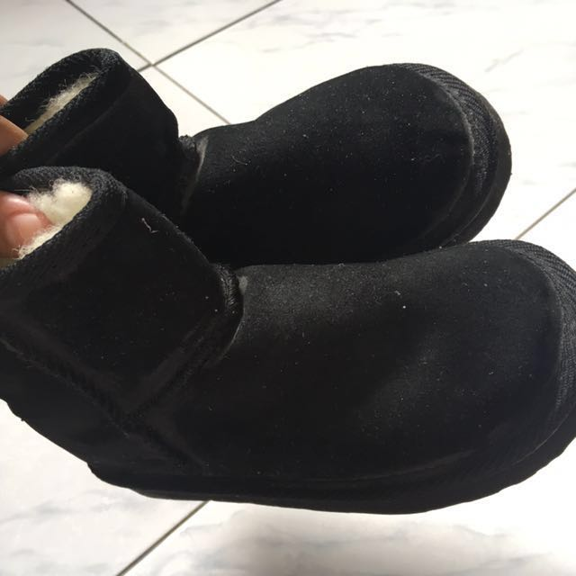 UKALA winter black boots