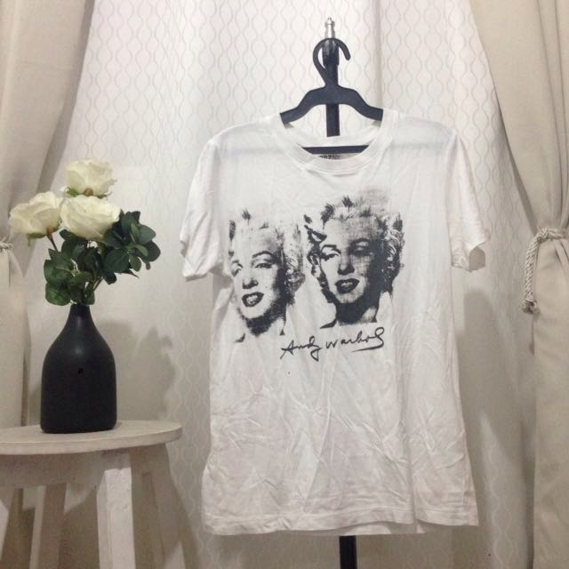 Uniqlo Andy Warhol White Small