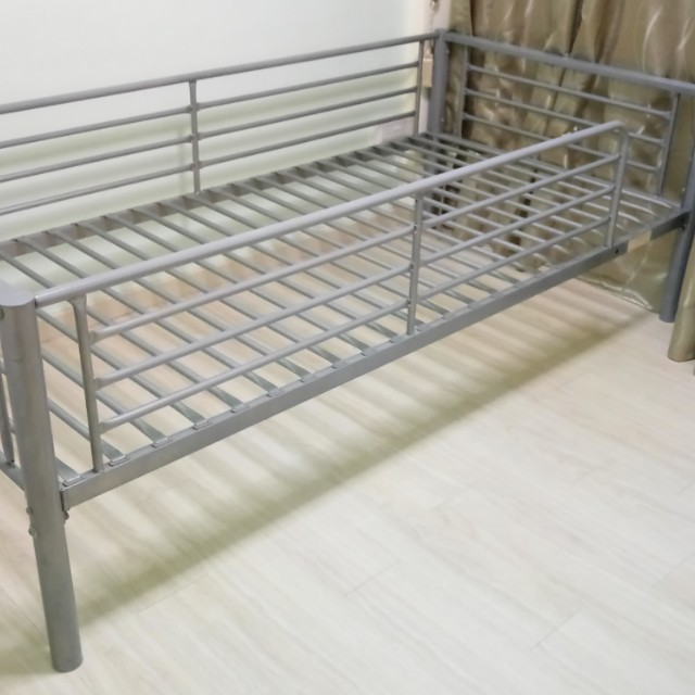 Urgent selling used bedframe, Furniture, Beds & Mattresses on Carousell