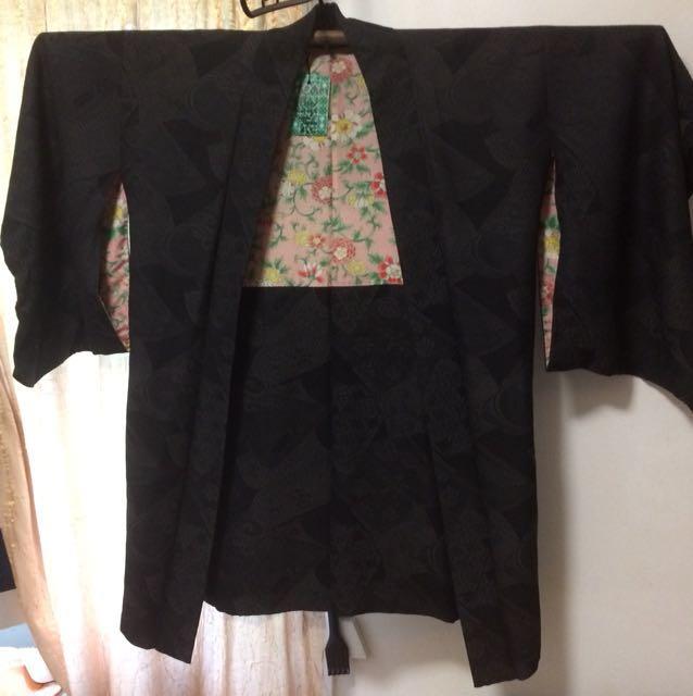 Vintage Japanese Kimono from Kamakura