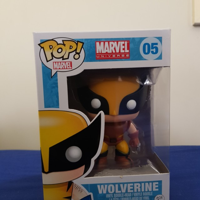 Wolverine pop!