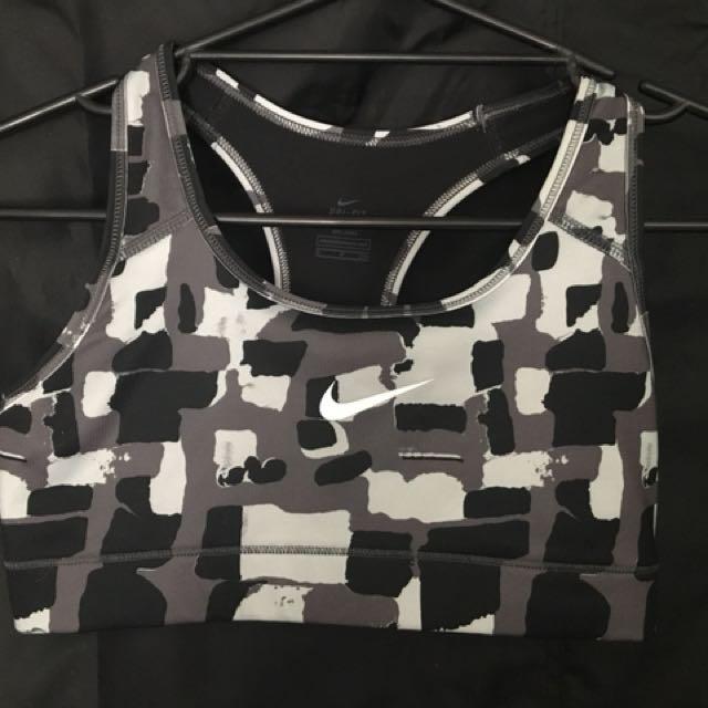 Woman's Nike sports bra