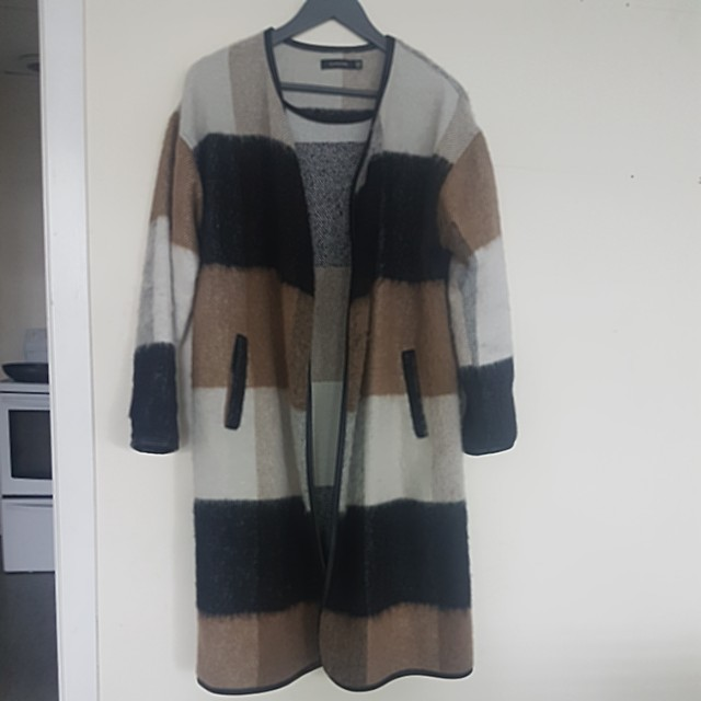 Wool long jacket Glassons s/m