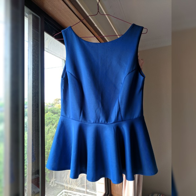Work top blue size 8-10